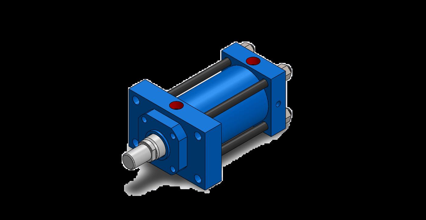 IPH Tie Rod Construction Hydraulic Cylinder