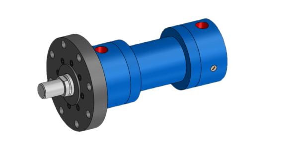 IPH India MF3 Mounted Hydraulic Cylinder