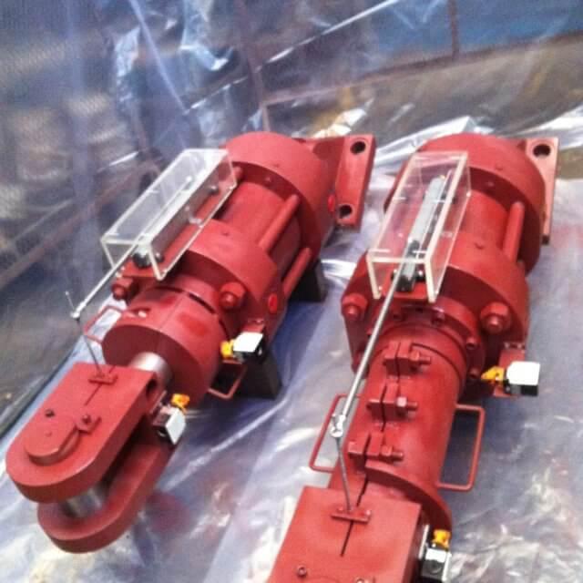 Linear Scale On Hydraulic Cylinder